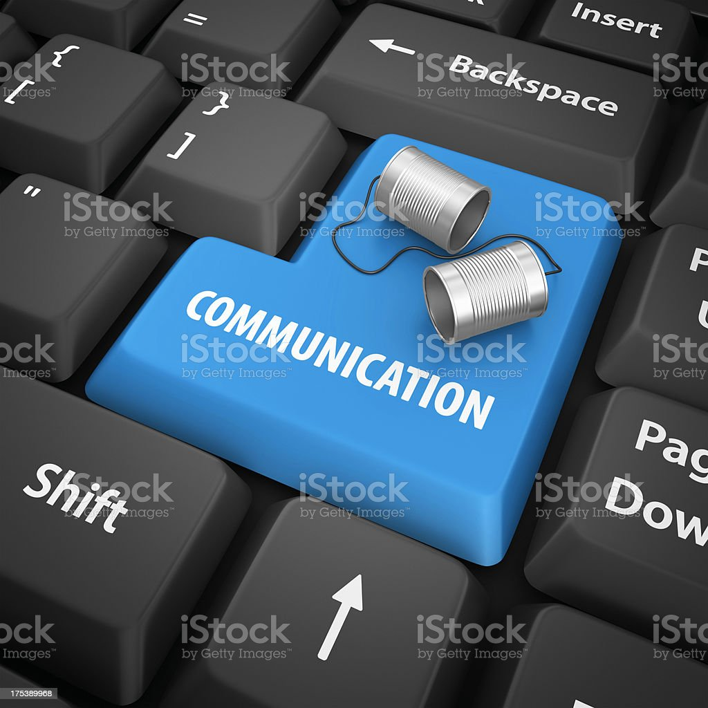 communication enter key royalty-free stock photo