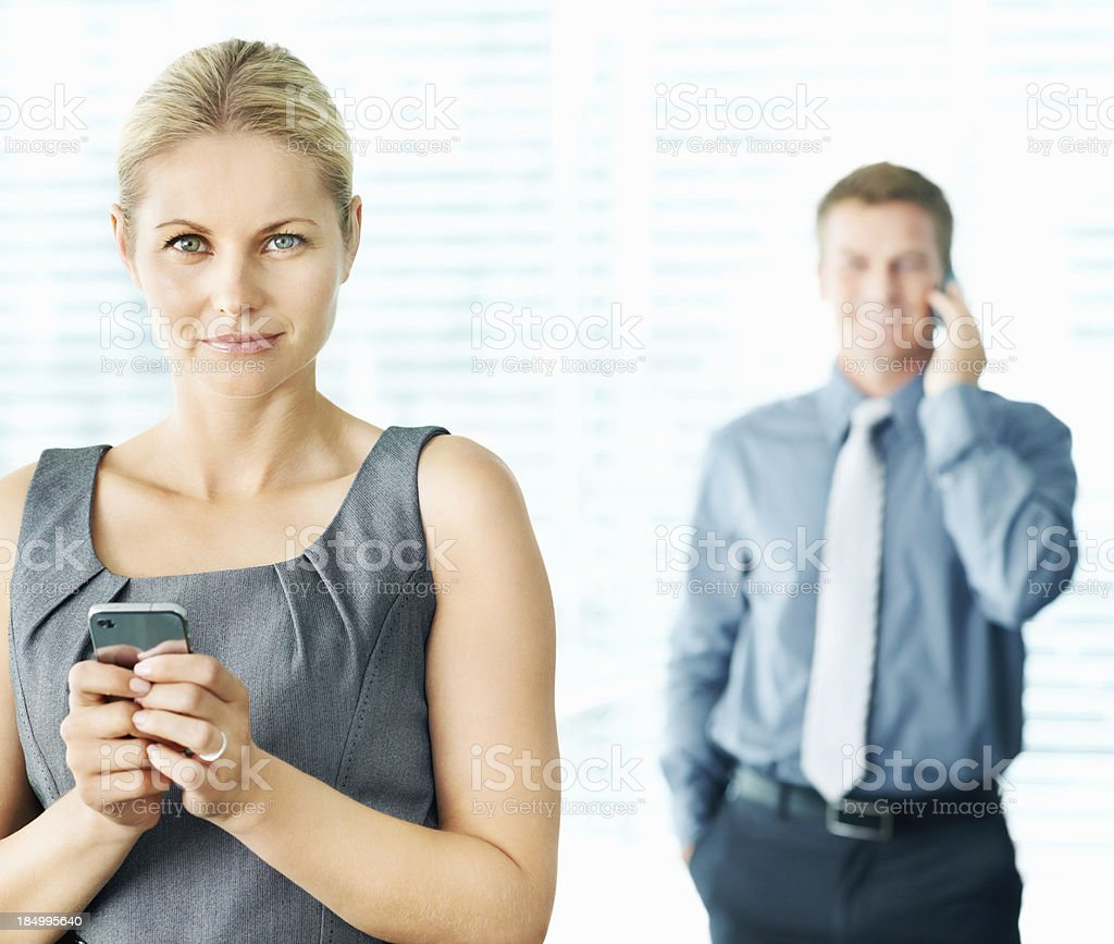 Communication is important for business success royalty-free stock photo