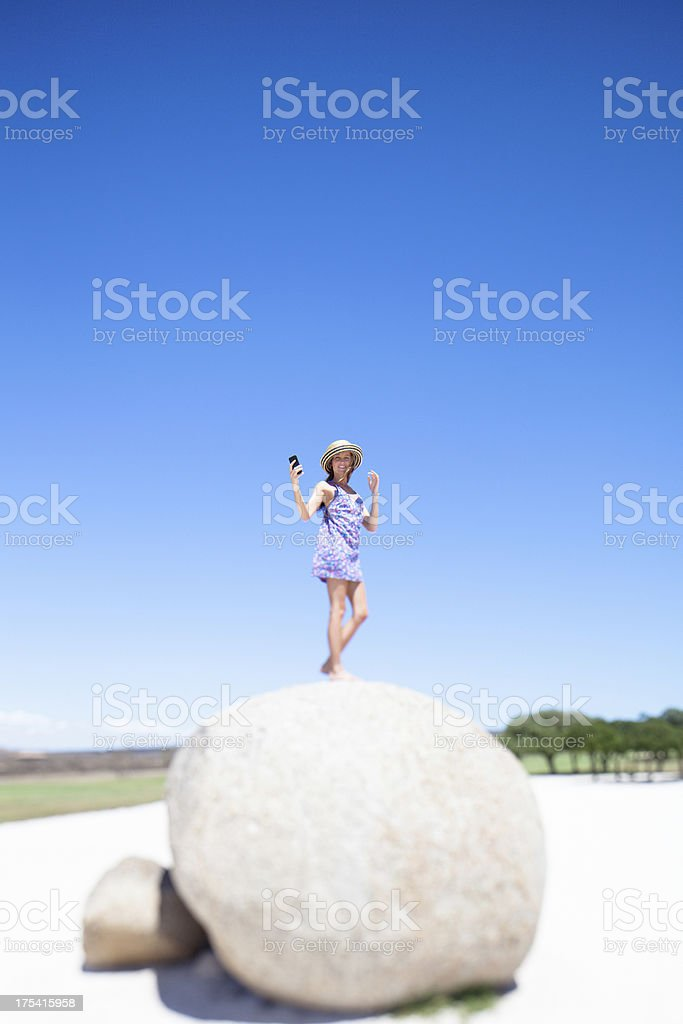 Communication issues - searching for cellular service stock photo