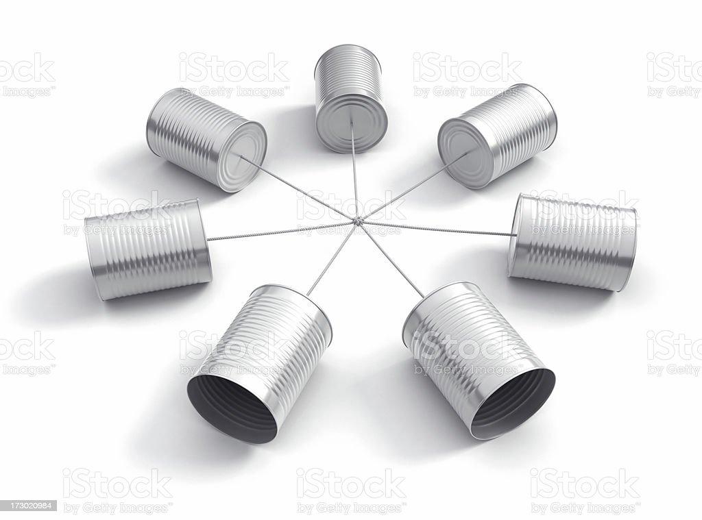 Communication IV royalty-free stock photo