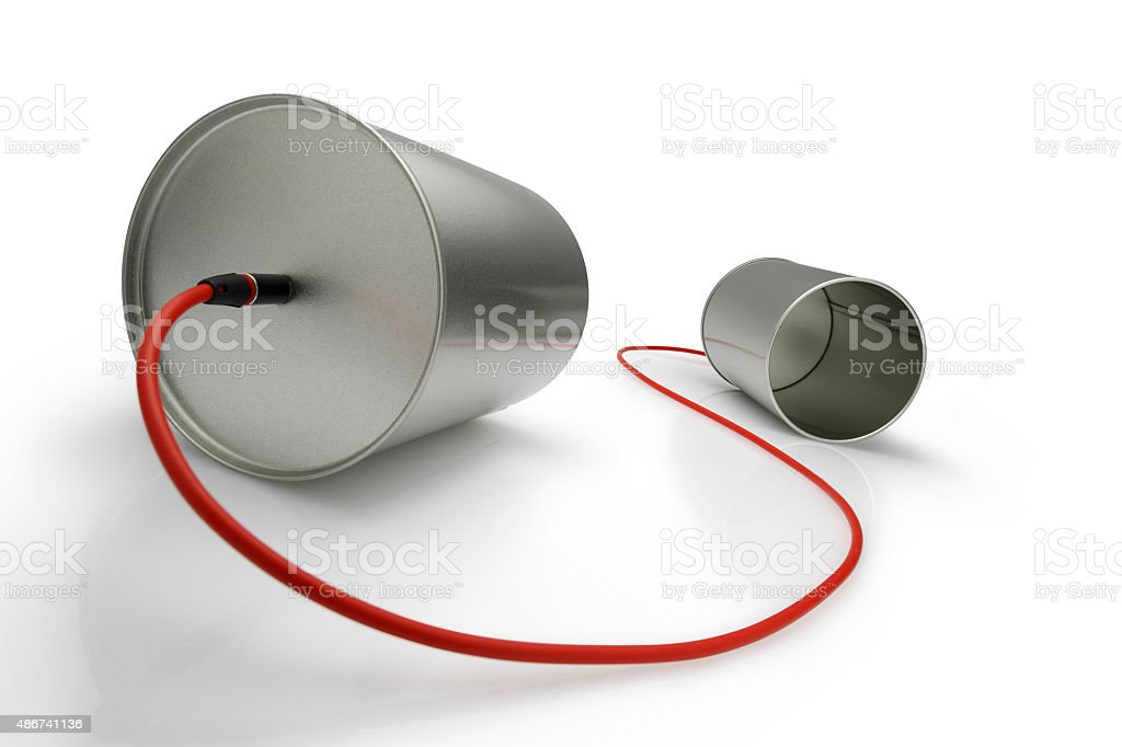 Communication (with Clipping Path) stock photo