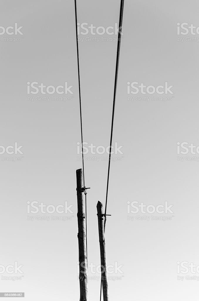communication road stock photo