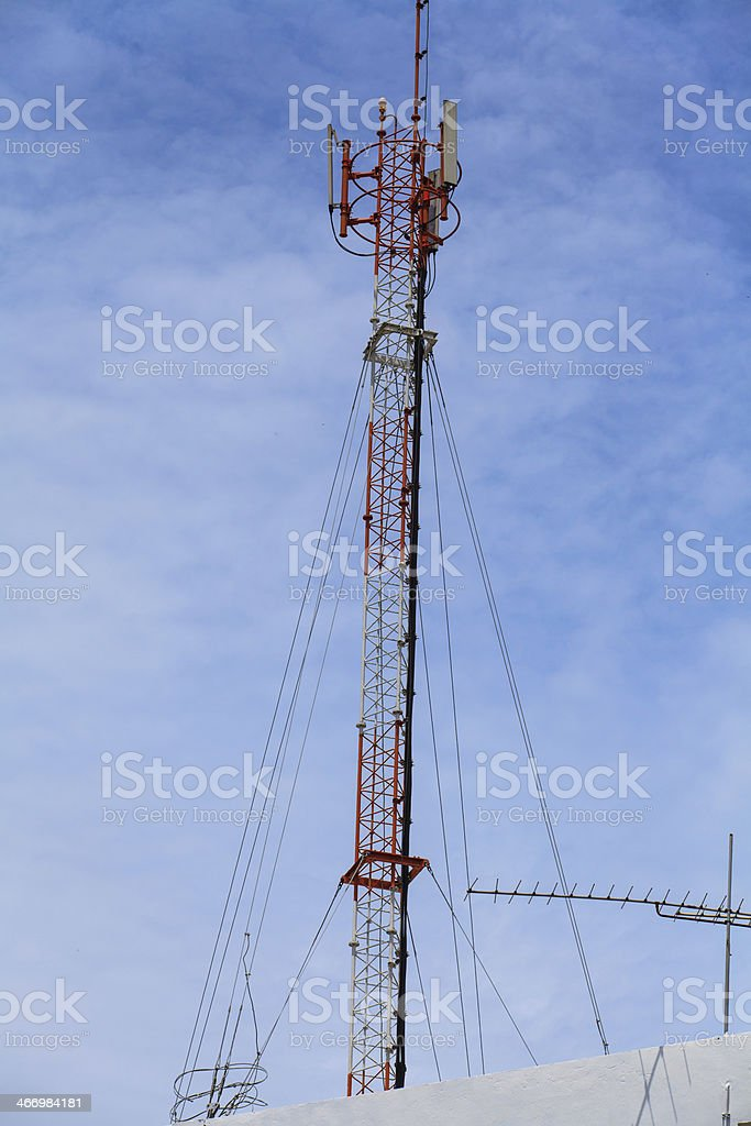 Communication Station royalty-free stock photo