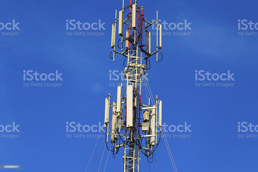 Communication Station royalty-free stock photo