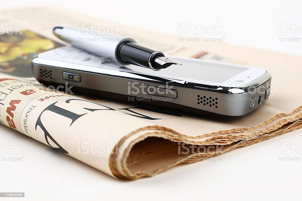 Communication tools stock photo
