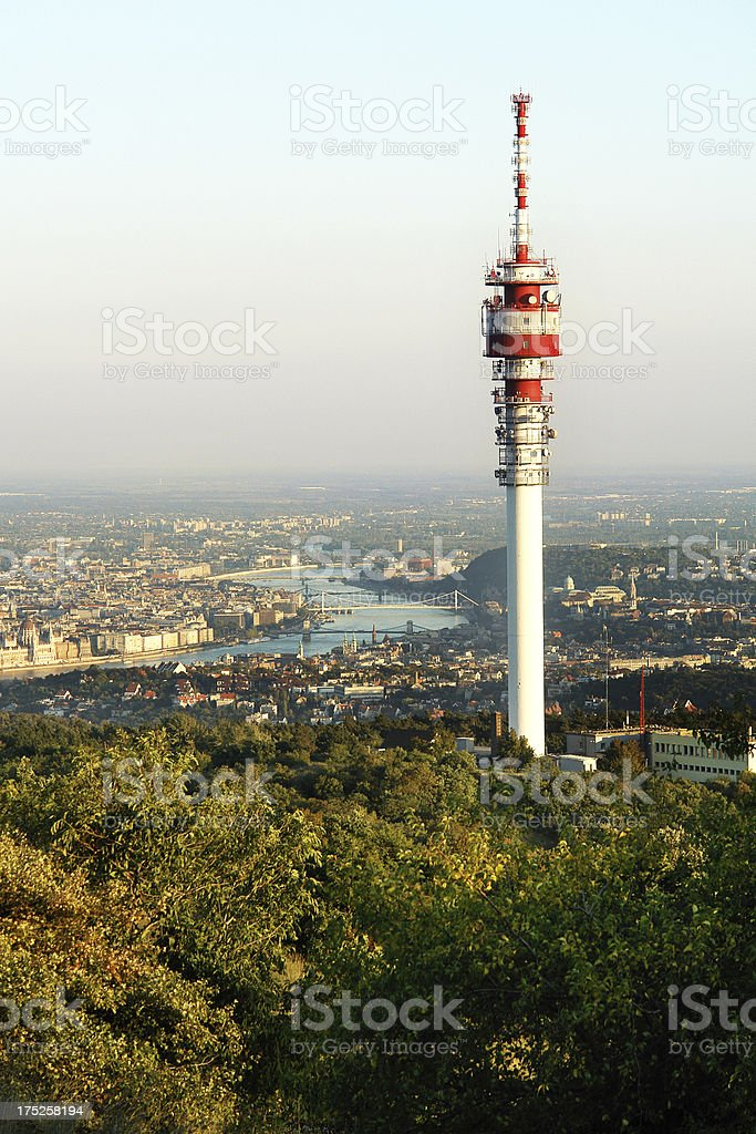 Communication Tower (Click for more) royalty-free stock photo