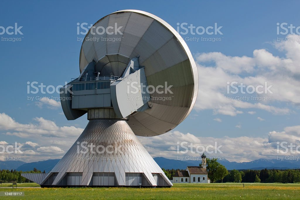communication with the sky royalty-free stock photo