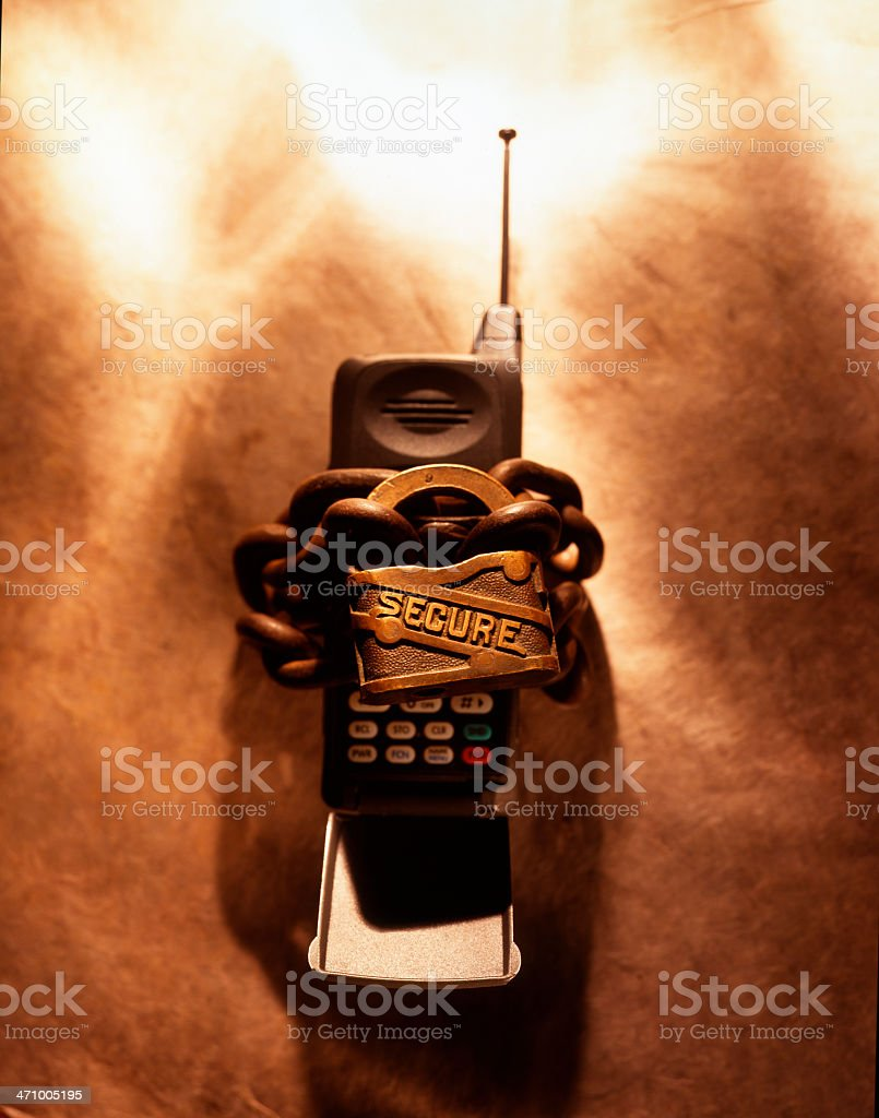 Communications Security 2 royalty-free stock photo