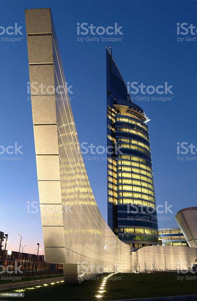 Torre de las Comunicaciones stock photo