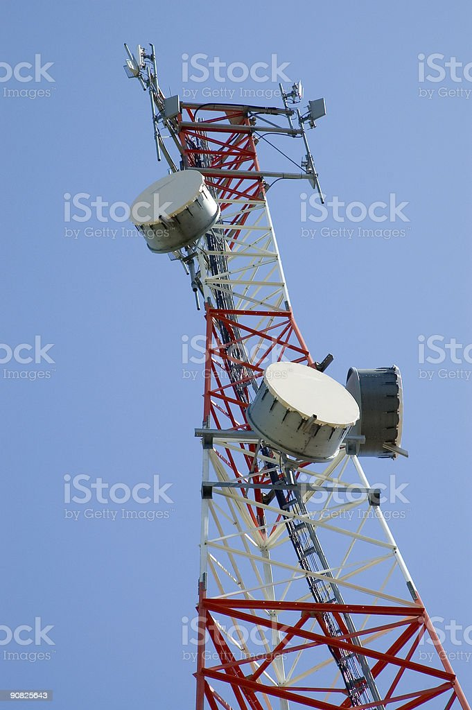 Communications Tower27 stock photo