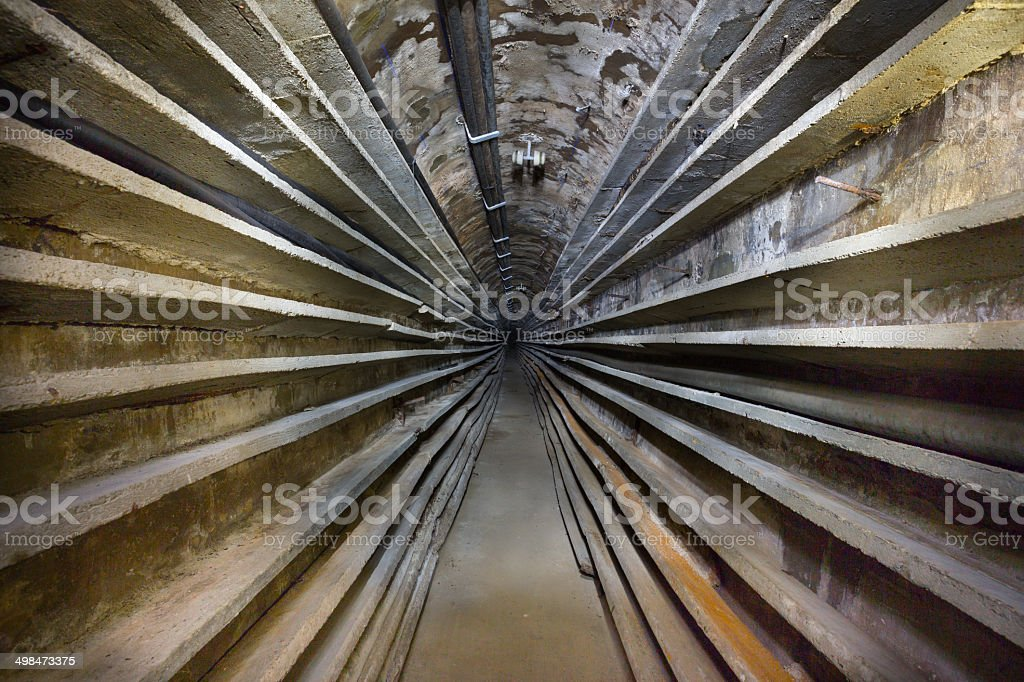 Communications Tunnel stock photo