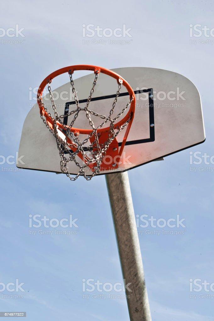 Communiity Centre Basketball Hoops stock photo