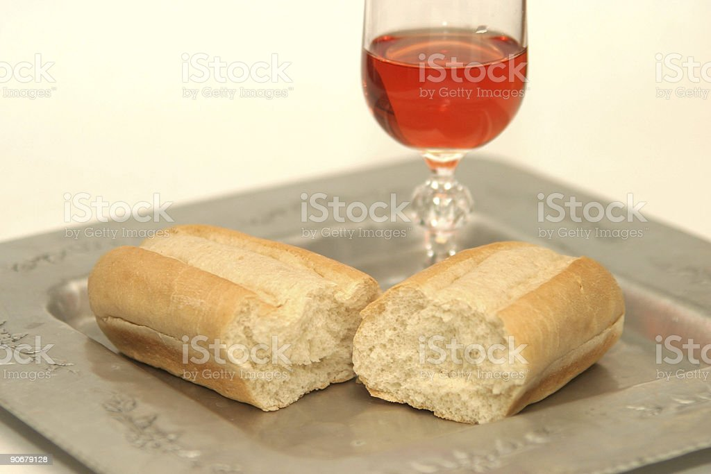 communion 1 stock photo