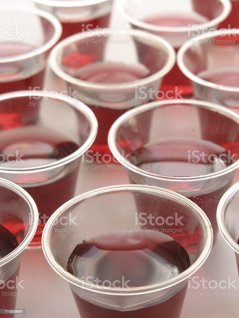 Communion cups royalty-free stock photo
