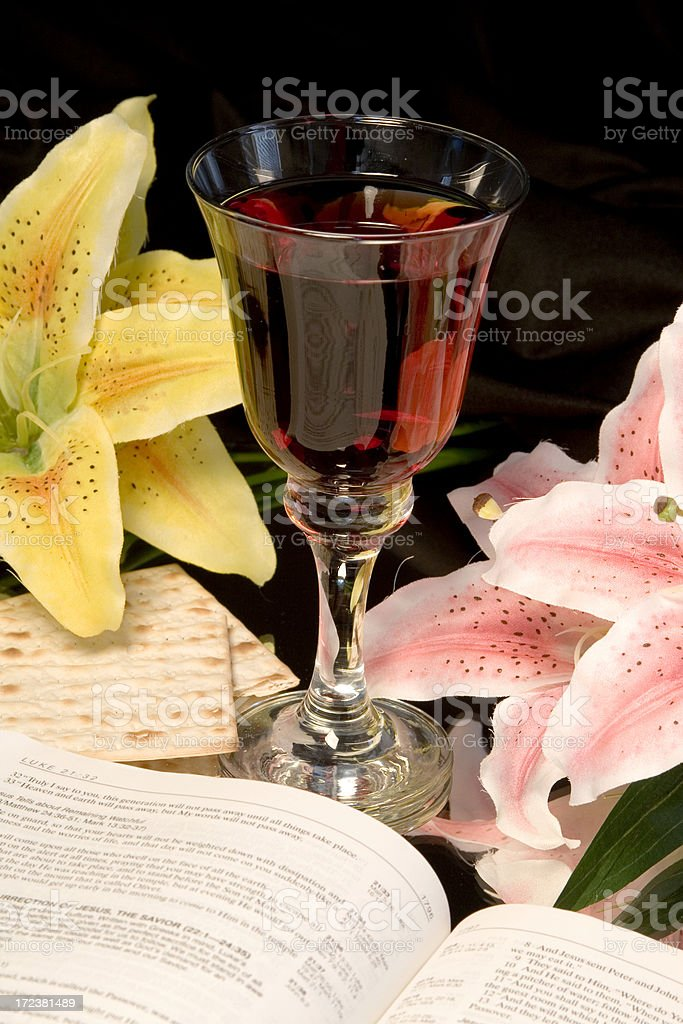 Communion- Easter-1 royalty-free stock photo