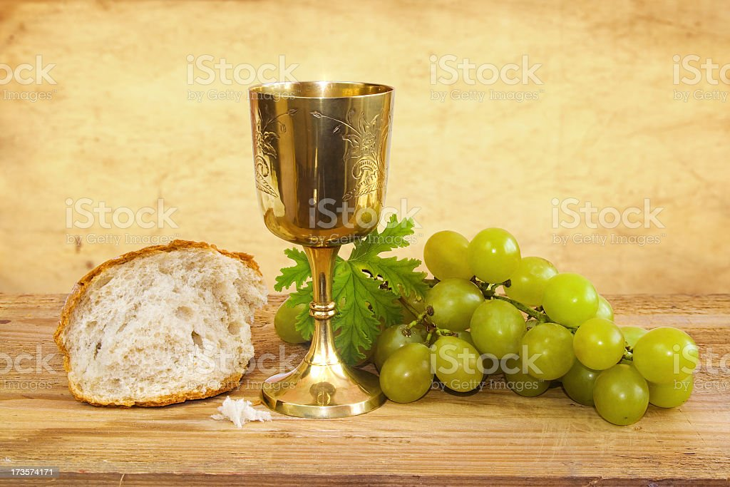 Communion royalty-free stock photo
