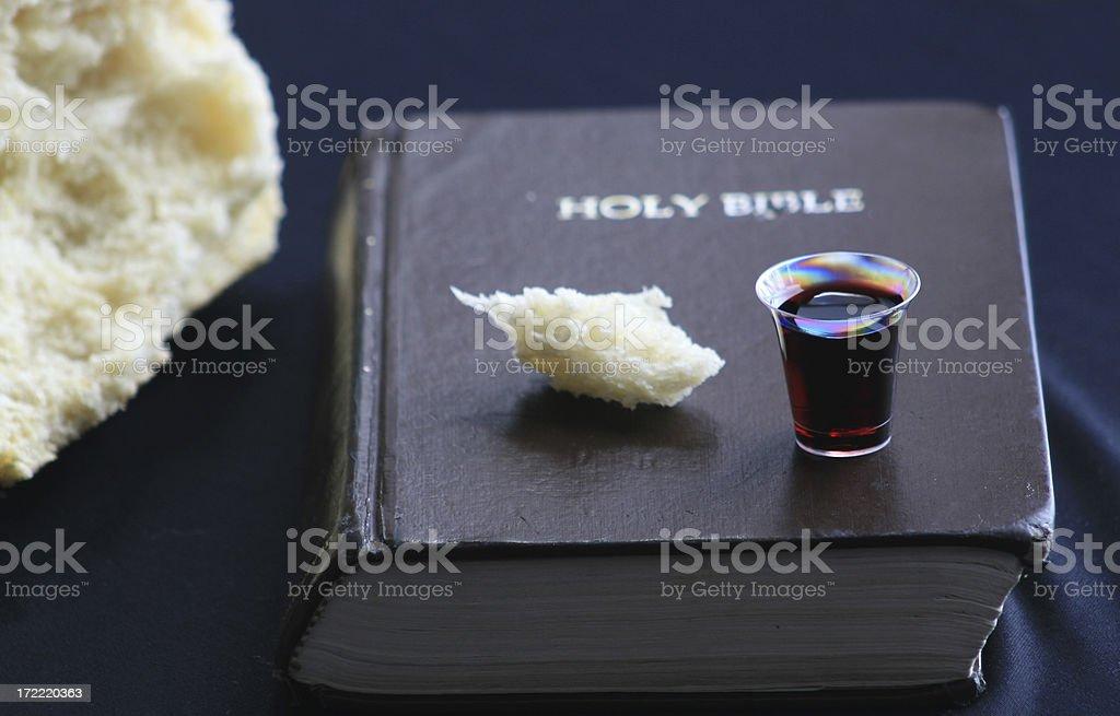 Communion Series royalty-free stock photo