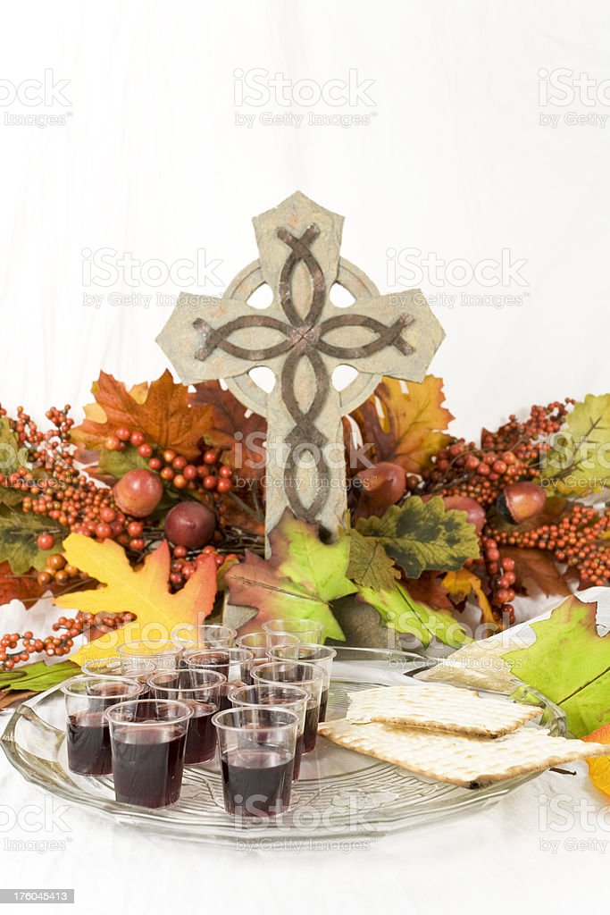 Communion Series royalty-free stock photo