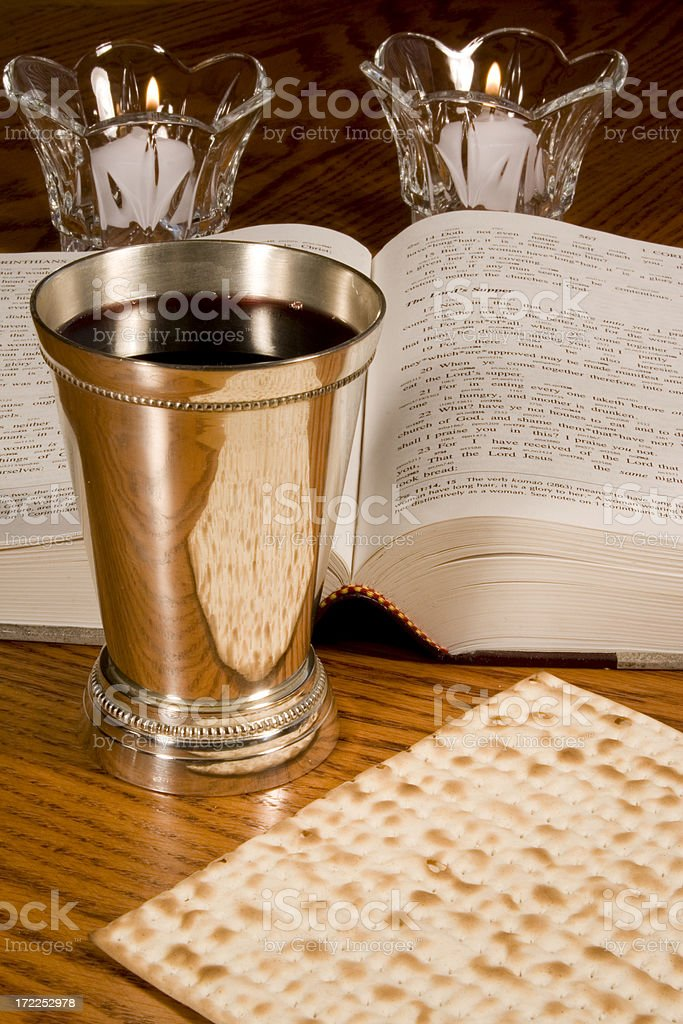 Communion service-2 royalty-free stock photo