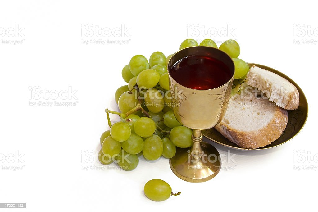 Communion symbol royalty-free stock photo