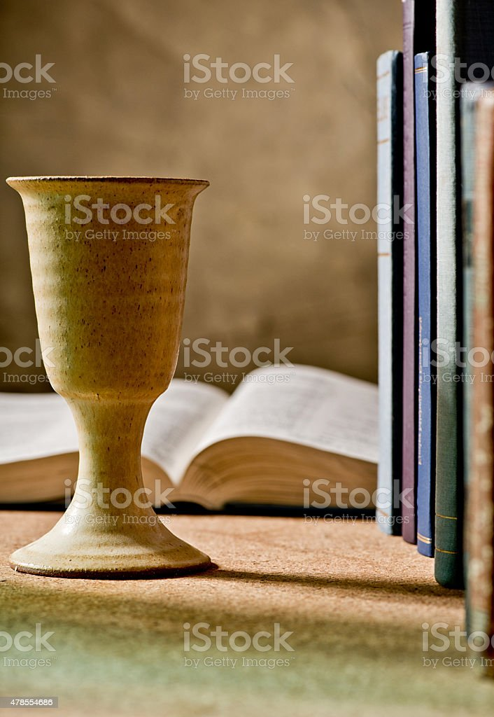 communion under both kinds stock photo