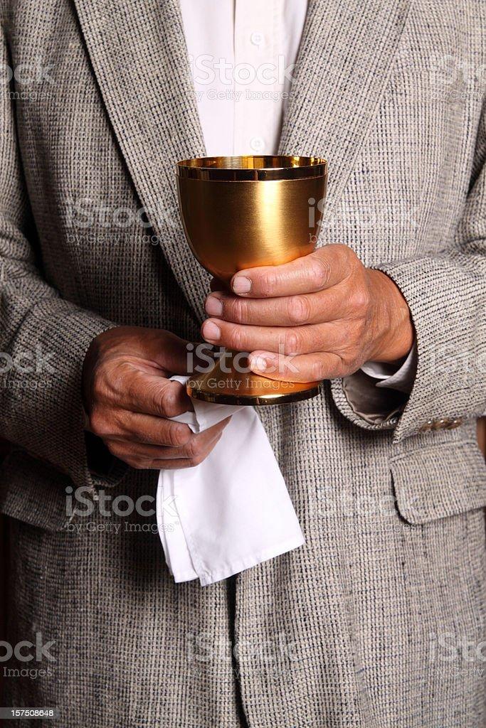 Communion Wine royalty-free stock photo