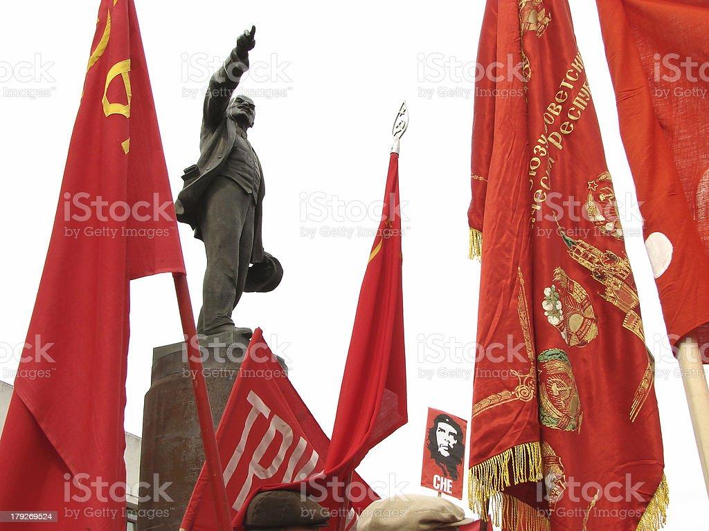 Communists' meeting stock photo