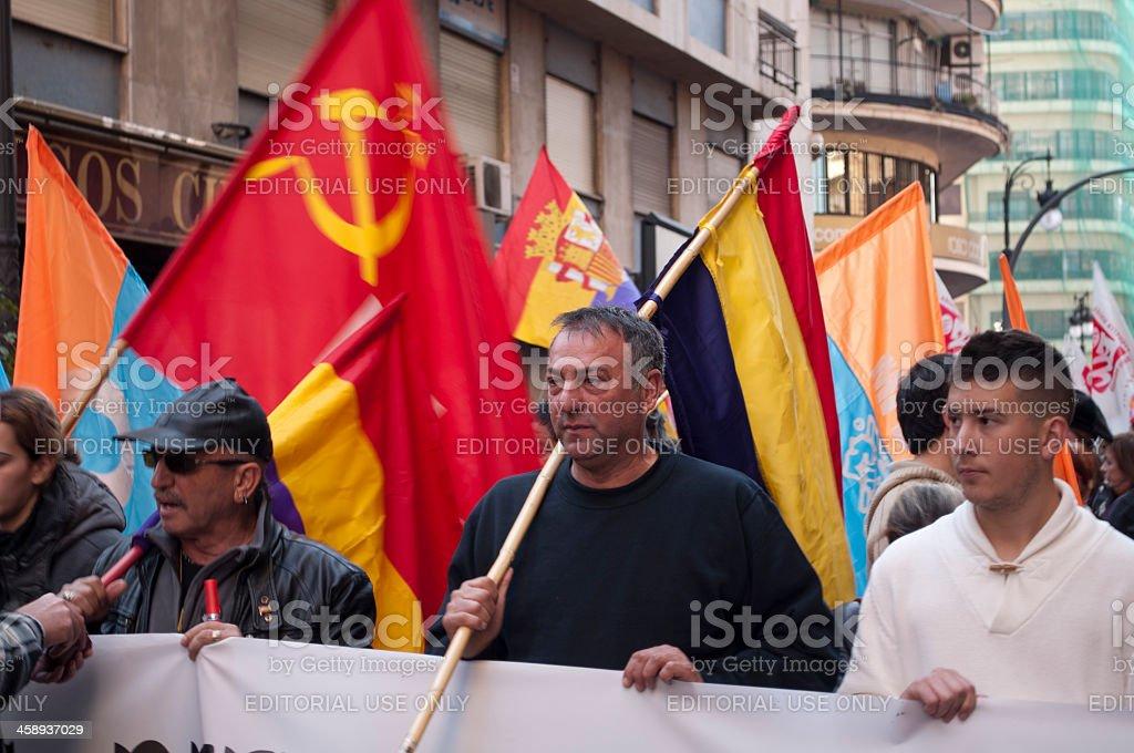 Communists stock photo