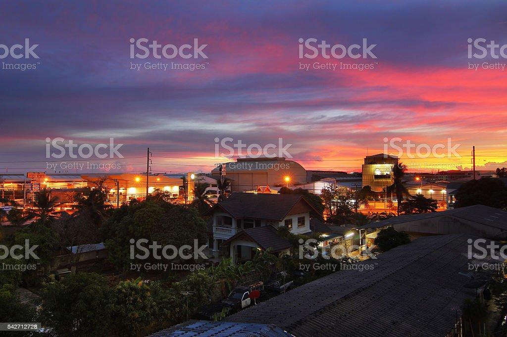Community at Bankok stock photo