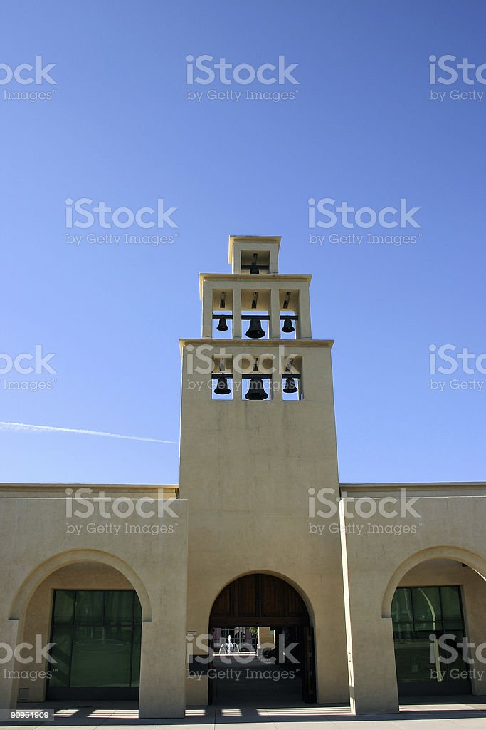 Community  bell tower #2 stock photo
