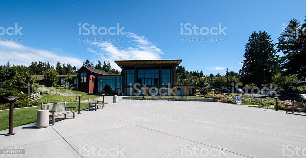 Community Center stock photo