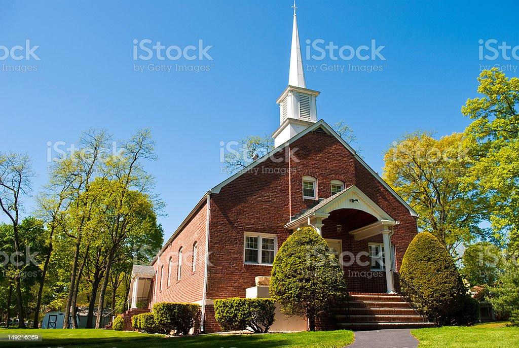 community church stock photo