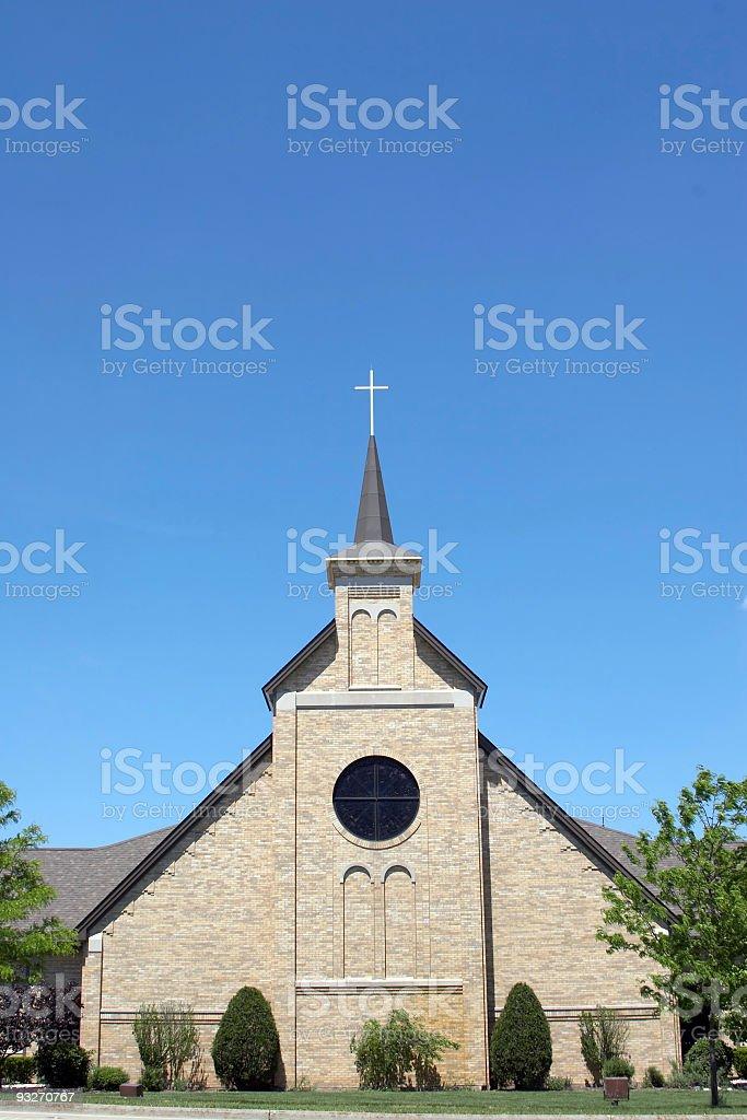 Community Church #1 stock photo