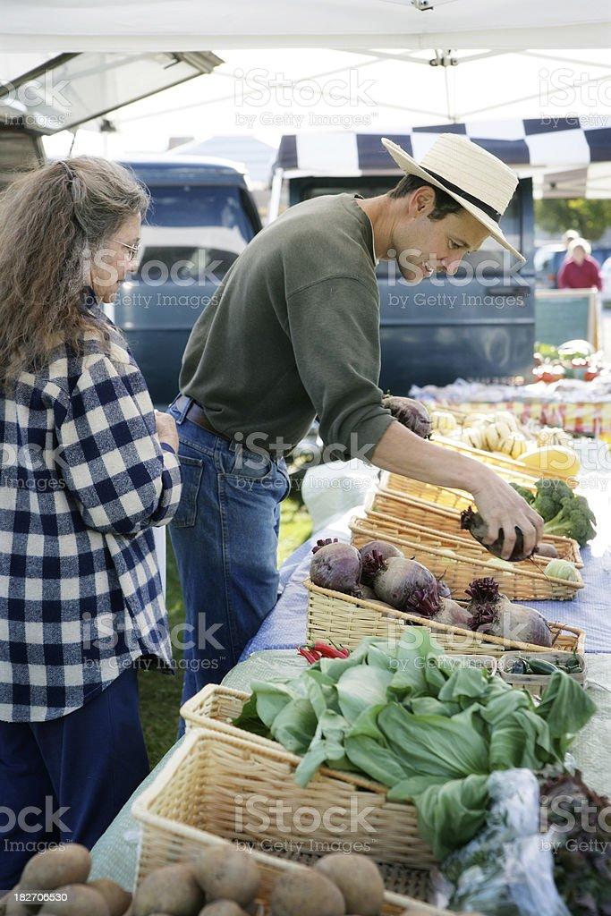 Community Farmer's Market royalty-free stock photo