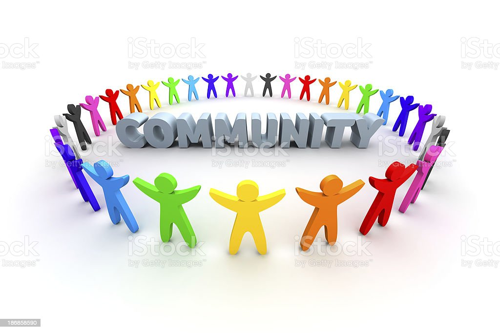 Community royalty-free stock photo