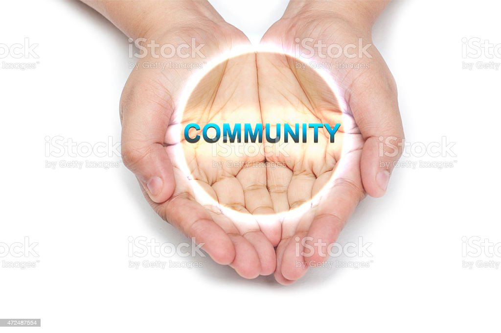 Community stock photo