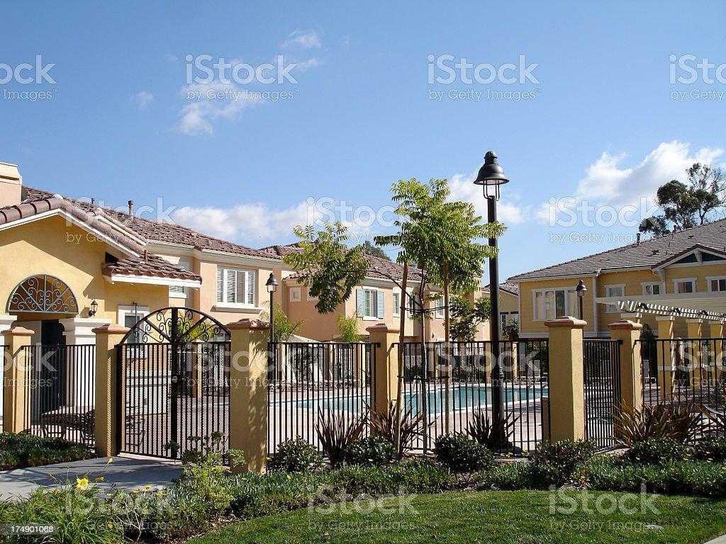 Community Pool stock photo
