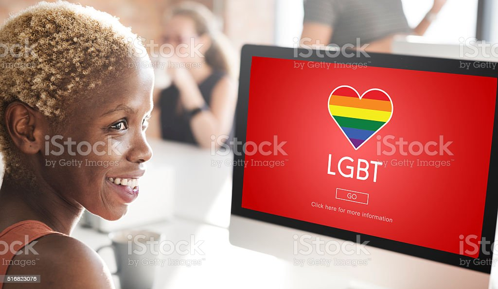 LGBT Community Sexual Rights Equality Concept stock photo