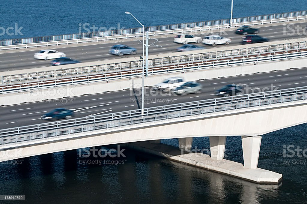 Commuter Cars stock photo