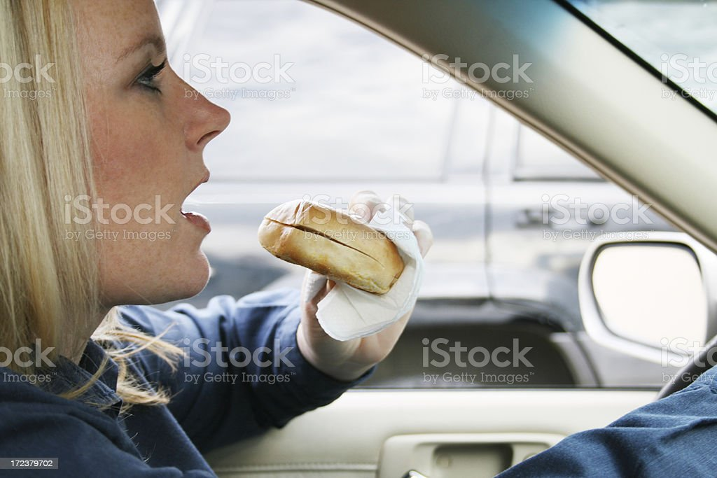 Commuter royalty-free stock photo