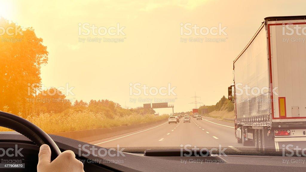 Commuter Traffic stock photo