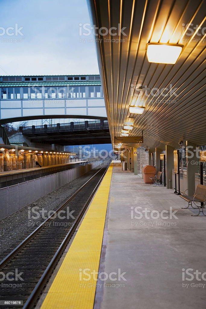 Commuter Train Station - 3 stock photo