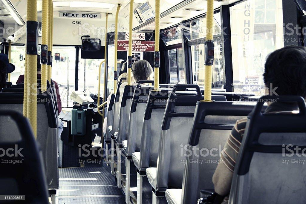 Commuting royalty-free stock photo