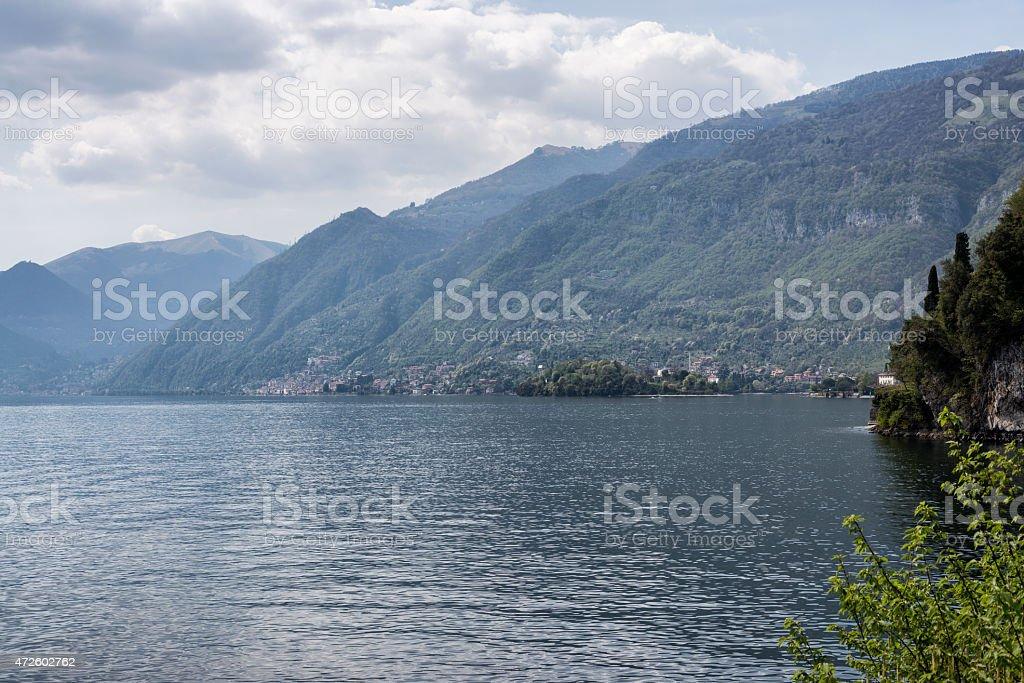 Como Lake, Italy landscape stock photo