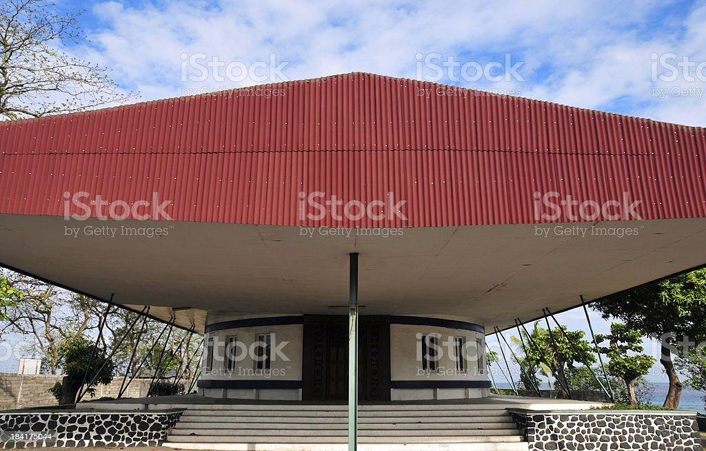 Comoros islands: the parliament stock photo
