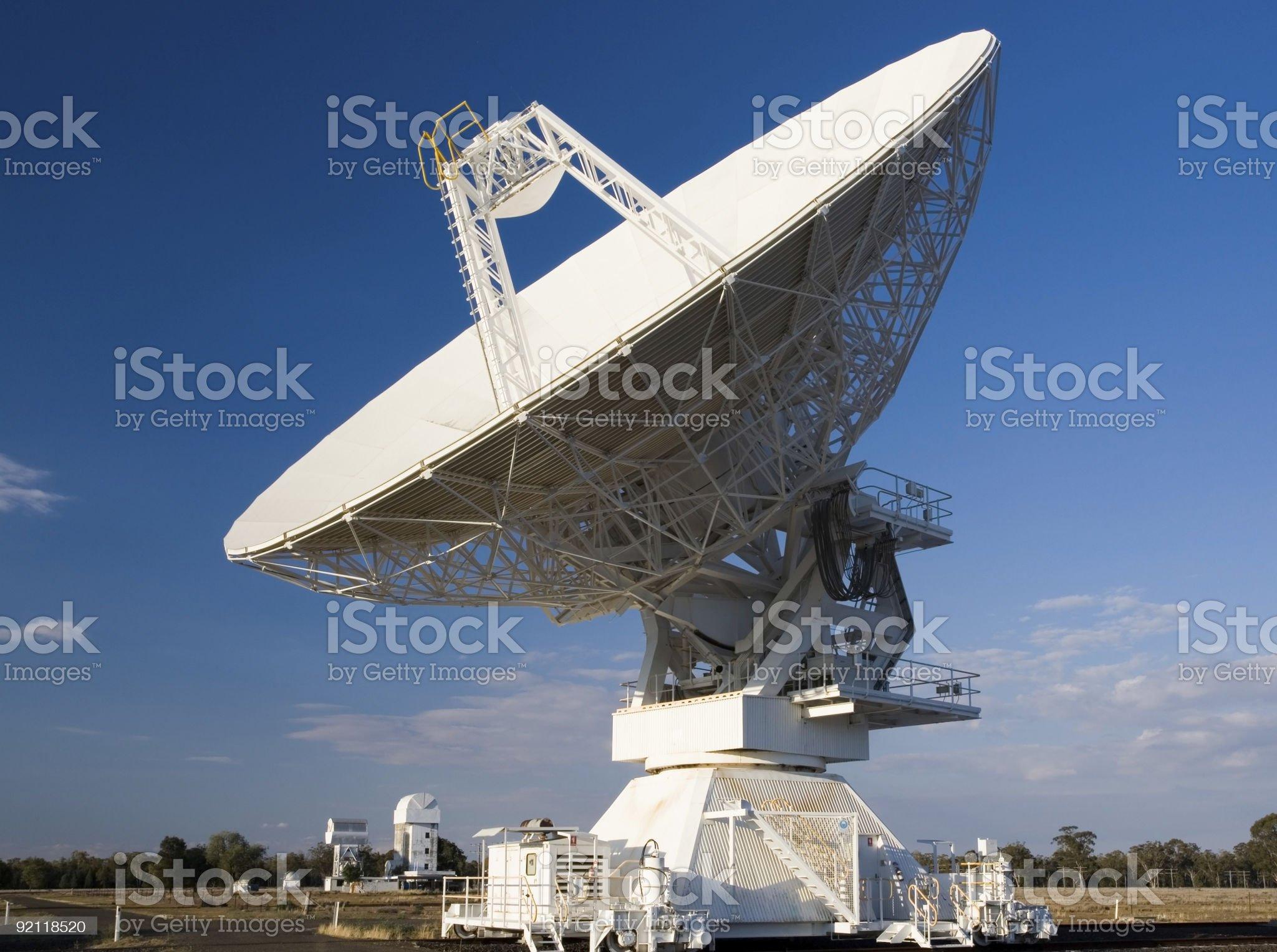 Compact Array Telescope royalty-free stock photo
