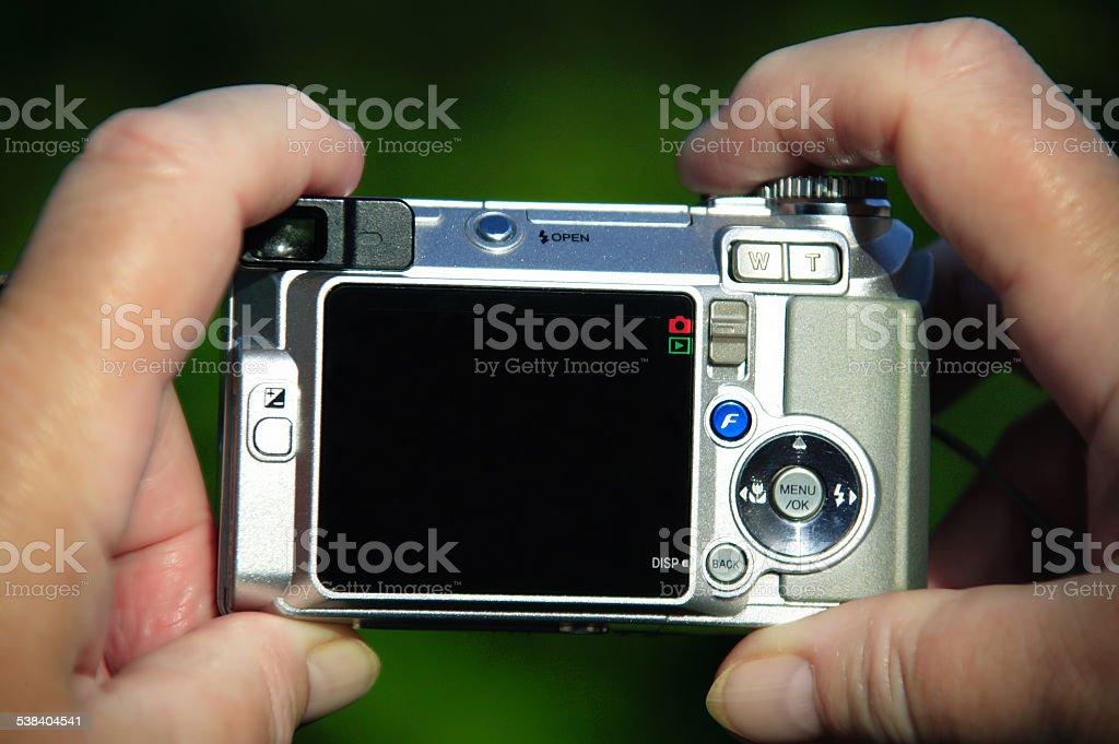 Compact Camera stock photo