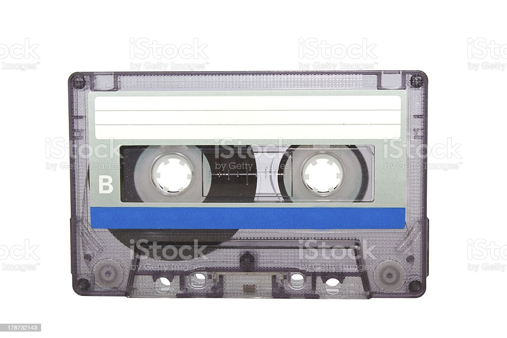Compact Cassette. royalty-free stock photo