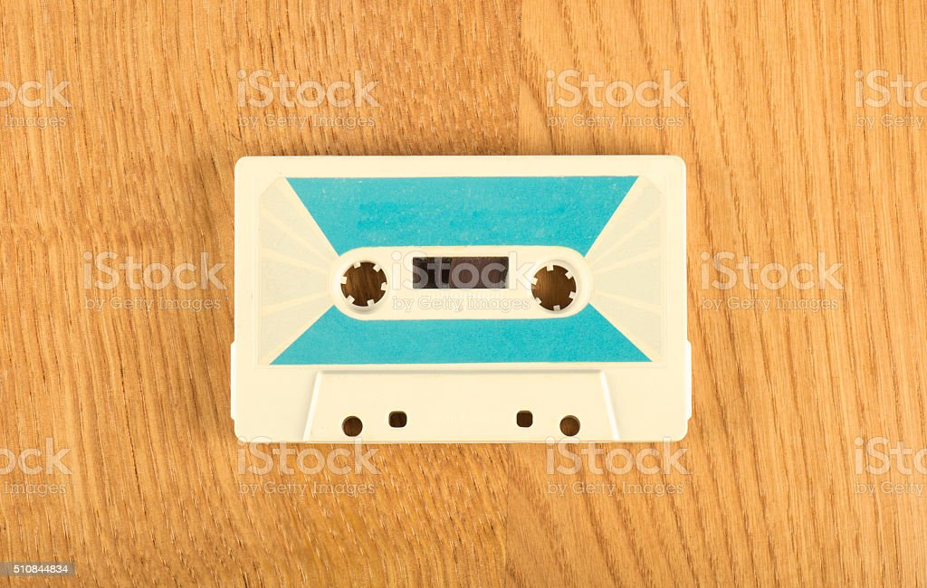 Compact Cassette stock photo