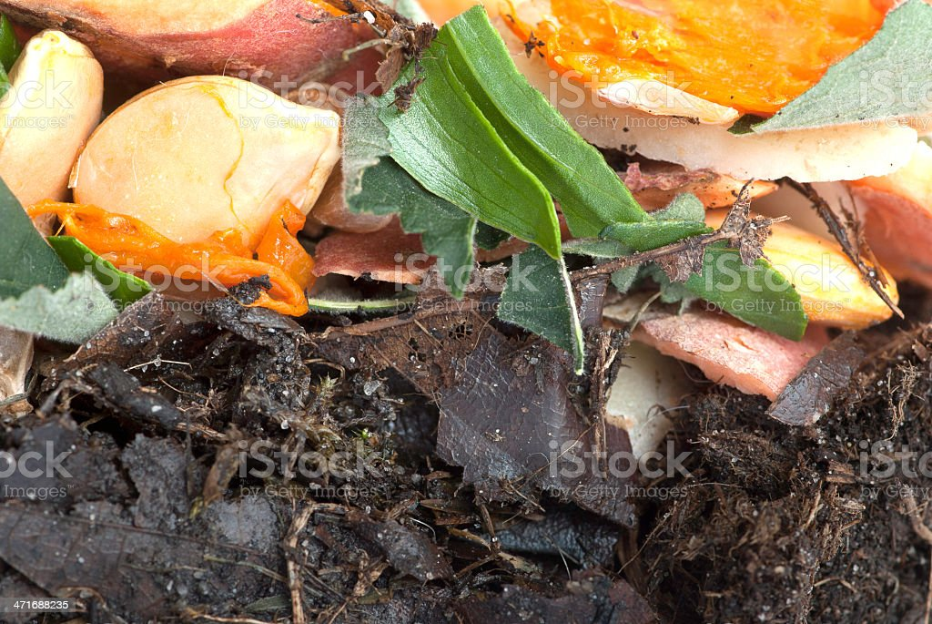 Compact Compost stock photo
